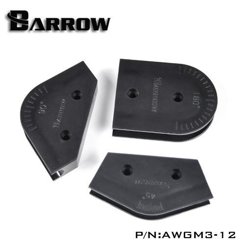 OD12mm 14mm 16mm Barrow Acrylic / PMMA/PETG Hard Pipe Bending Mould Kit For Hard Tube Computer Water Cooling AWGM3-12()