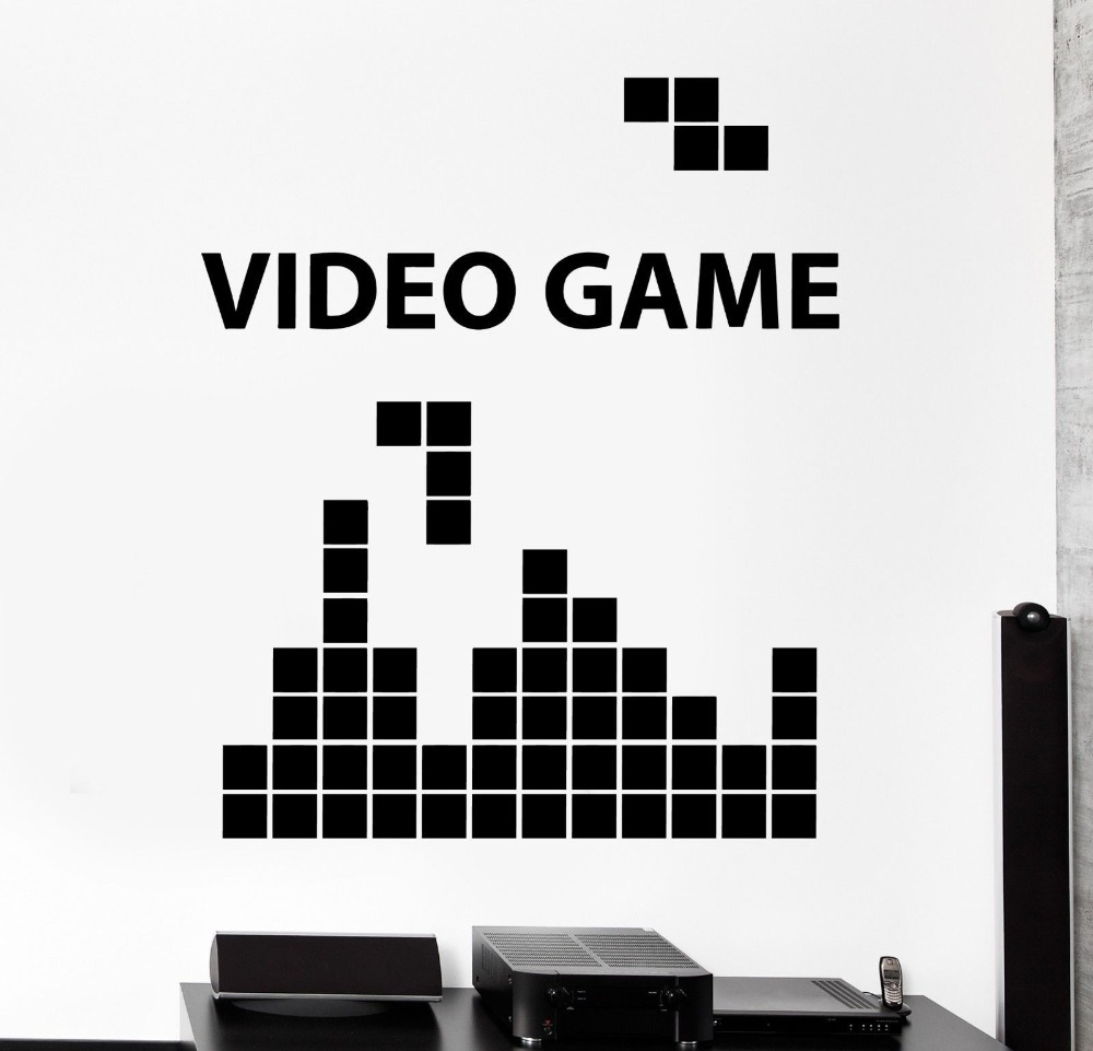 Gaming Video Game Computer Gameplay Home Decor Wall