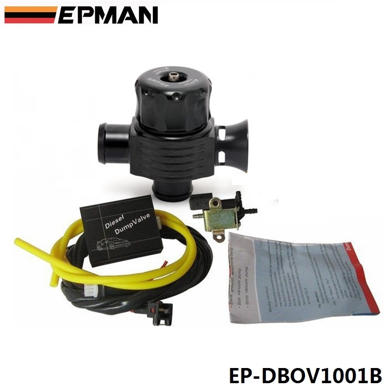 EPMAN TURBO DIESEL ELECTRONIC BLOW OFF VALVE DUMP VALVE KIT FOR BMW AUDI VW MERCEDES ISUZU EP-DBOV1001B(China (Mainland))