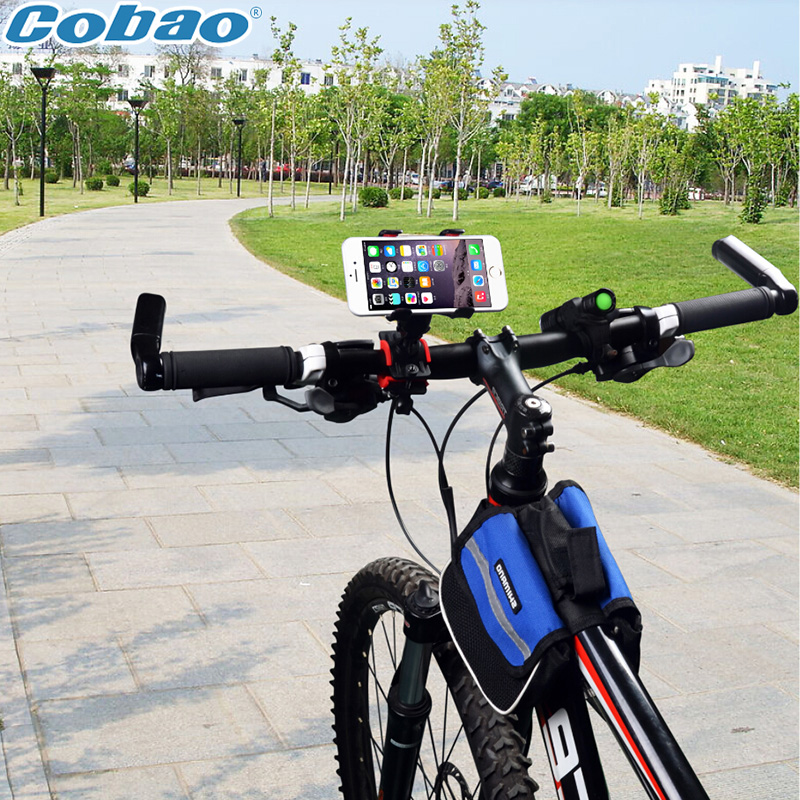 Mountain Bike Bicycle Universal Cycling Motorcycle Handle Mobile Cell Phone GPS Mount Cradle Holder Support Case(China (Mainland))