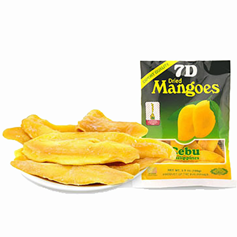 Wholesale and retail instant snack dried fruit food Philippine dried mango snacks 100g free shipping