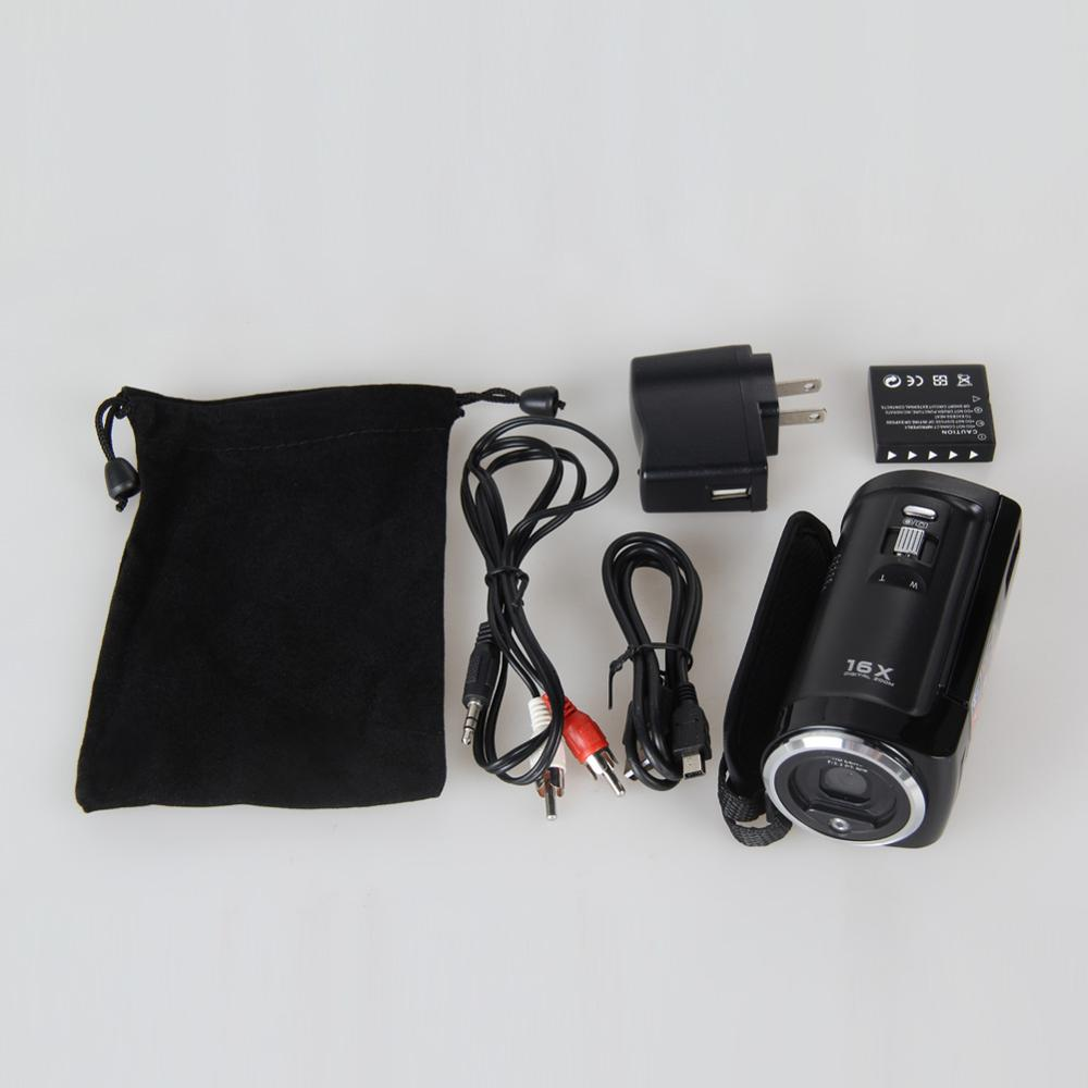 Hight Quality 2.7′ Inch LCD Digital Camera 720P HD 16MP Video Camcorder 16x Digital Zoom DV DVR Camera EU/US/UK Plug