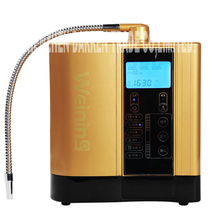 LF-600B water ionizer alkaline ionized water to maintain the body pH balance ABS food grade material PPF cotton Filter(China (Mainland))