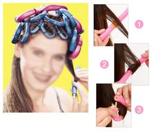2015 Gift 12X New Safe Large Bendy Twist Hair Hairdressing Rollers Foam Curlers UK(China (Mainland))
