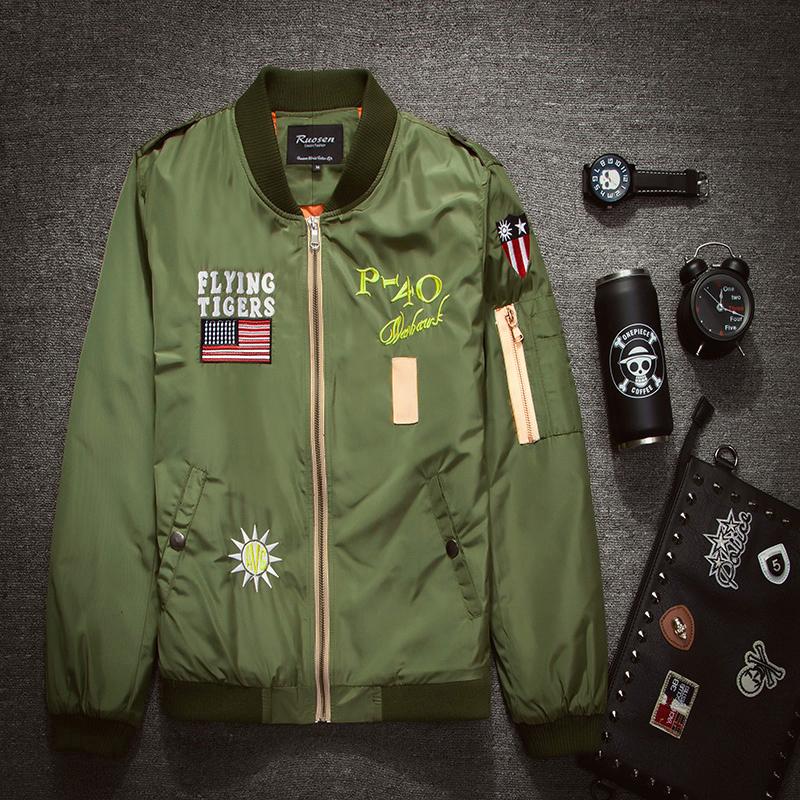 2015 Bomber Jacket Men Fashion Baseball Jacket Sport Mens Jackets And Coats Vetement Homme Chaqueta Hombre Jaqueta Masculina