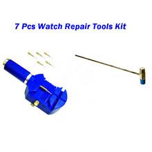 7pcs Watch Link Remover Tool Band Slit Strap Bracelet Pin Adjuster Repair Tools(China (Mainland))