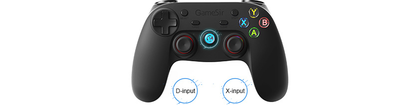 GameSir G3s Gamepad for PS3 Controller Bluetooth 2.4GHz snes nes for SONY Playstation (US Post) Black, Green, Orange Color