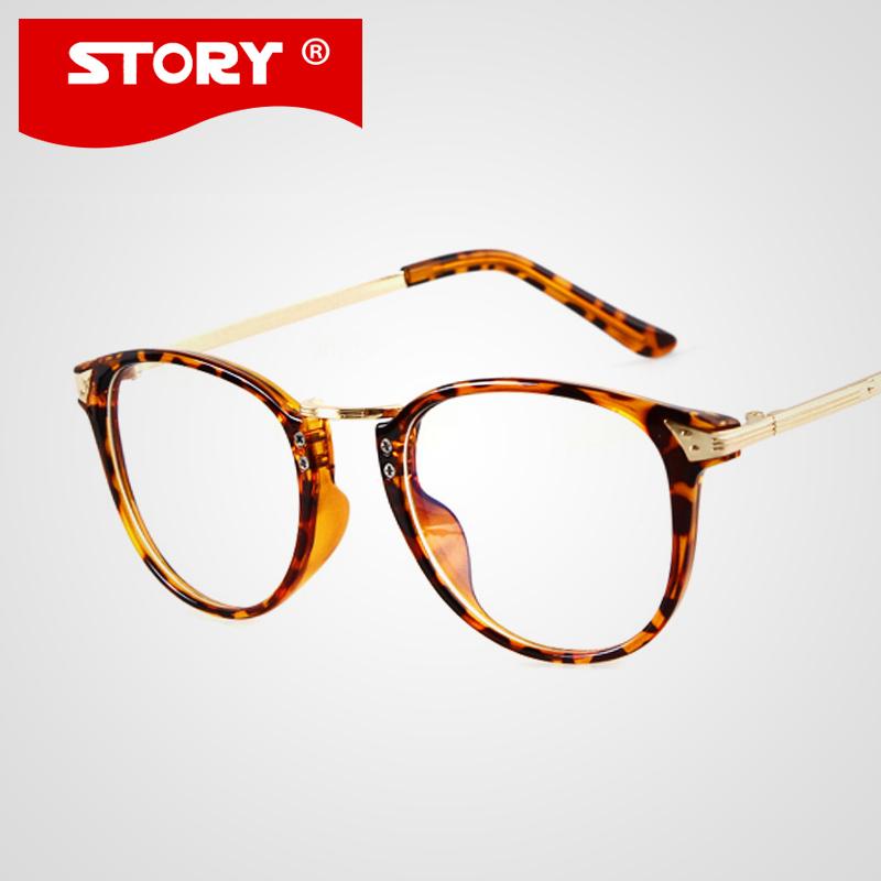 fashion trendy vintage glasses clear lens eyewear
