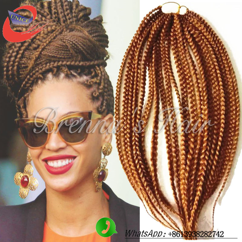 Crochet Hair Aliexpress : Aliexpress.com : Buy #27 Crochet braids synthetic box braid extensions ...