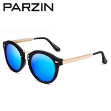 Parzin Polarized Sunglasses Women Vintage Tr 90 Sun Glasses Female New Ladies Glasses For Driving Sunglases With Case Black