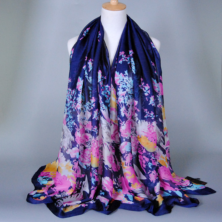 The new high-end silk scarves scarf foreign trade export brand selling shawls ensure quality supply electricity supplier ZS27(China (Mainland))