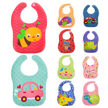 Buy Kids Baby Bibs Burp Cloths Baby Bibs EVA Waterproof Lunch Bibs Boys Girls Infants Cartoon Pattern Bibs Burp Cloths for $1.31 in AliExpress store