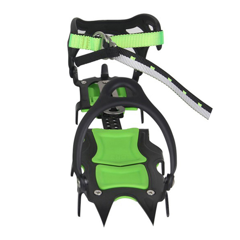 Free shipping skiing slippers BRS-S1A Fourteen Teeth Bundled Crampons Professional Ice Gripper H1E1<br><br>Aliexpress