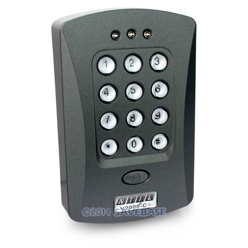 HOMSECUR Door Access Control Keypad RFID ID Proximity Reader +10 ID 125Khz Cards(Key Fob)(China (Mainland))