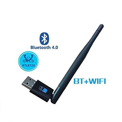 150Mbps wifi Bluetooth 4.0 Wireless Nano USB Adapter with antenna Support Windows 2000/XP/Vista/WIN 7/WIN CE/LINUX/MAC OS(China (Mainland))