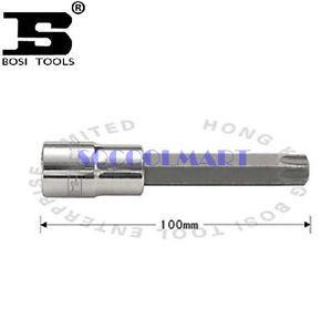 PRETTY 1Pcs 100mm Long 1/2-inch Drive T40 Steel Torx Screwdriver Bit Socket*