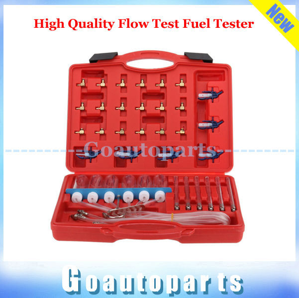 High Quality Flow Test Fuel Tester Diesel Injector Garage Tool Set Common Rail Adapter for AUTO FUEL INJECTOR FLOW METER TEST(China (Mainland))