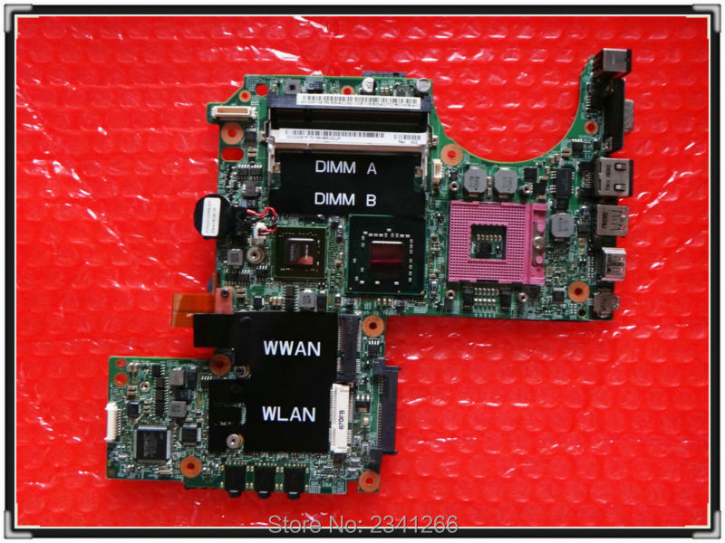 CN-0PU073 for DELL XPS M1330 0PU073 laptop motherboard for intel cup with G86-631-A2 upgrated graphic card free shipping(China (Mainland))