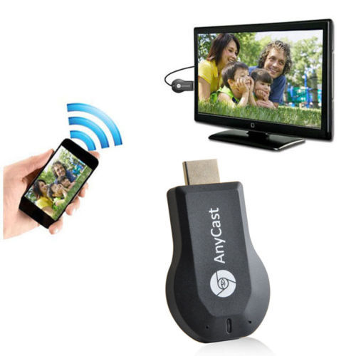 New Tech Miracast DLNA Airplay AnyCast Miracast Dongle Android tv Better Than EZcast Chromecast Android Mini PC 1080P TV Stick(China (Mainland))