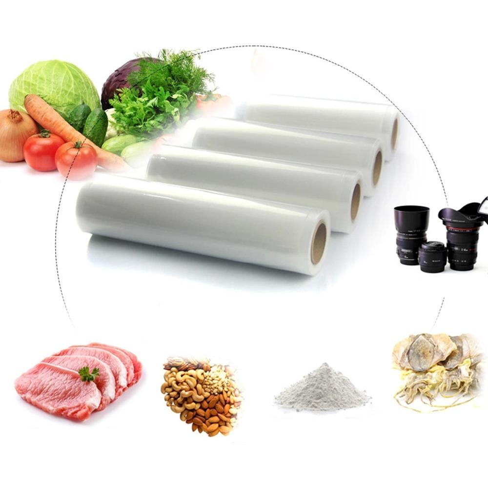 "8""x16' (20x500cm) Vacuum Food Bag Roll for Kitchen Vacuum Fresh Storage Bags(China (Mainland))"