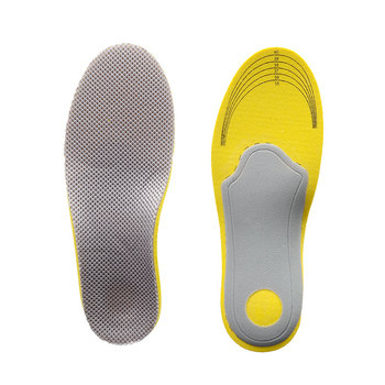 1pair (EU35-40)  Adjustable Orthopedic Insoles Men woman Mesh Flatfoot Flat Foot Sport Orthotic Arch Support Insoles High