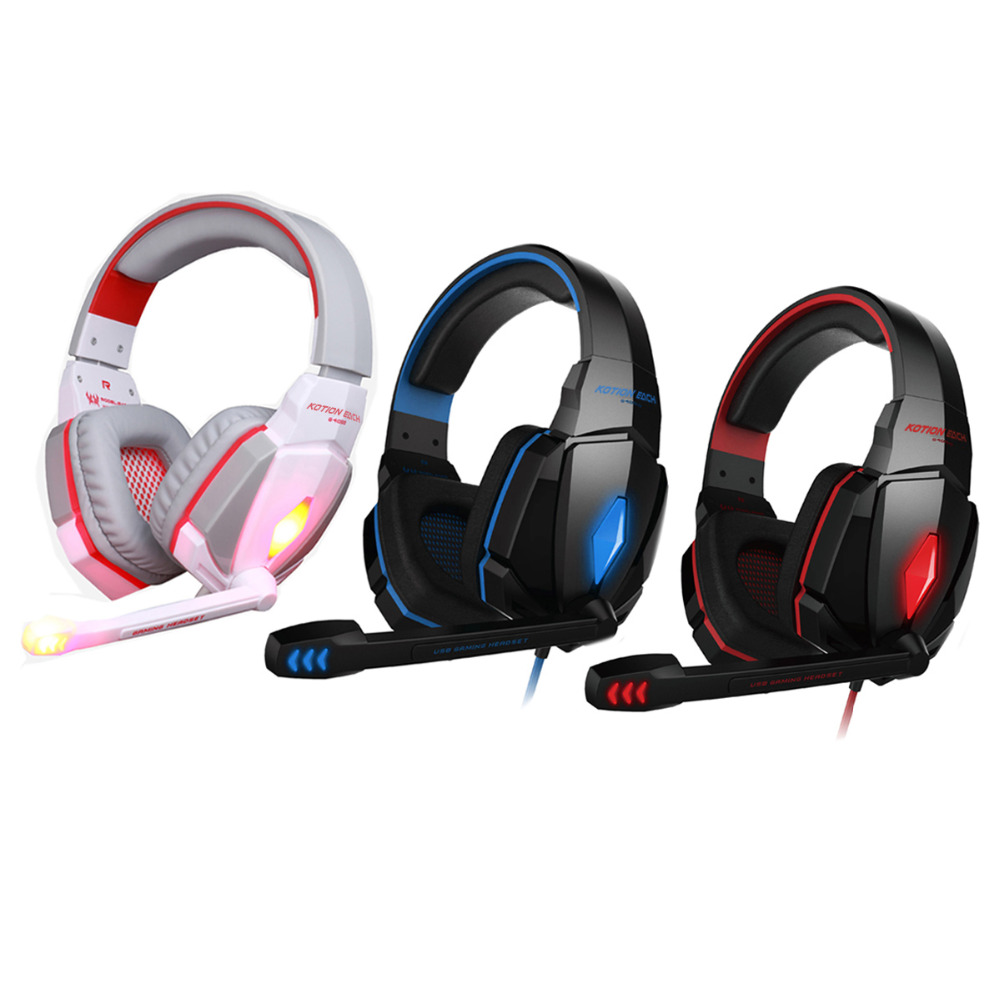best pc gamer casque audio gaming headset g4000 glow earphone luminous headphone for ps4 with. Black Bedroom Furniture Sets. Home Design Ideas