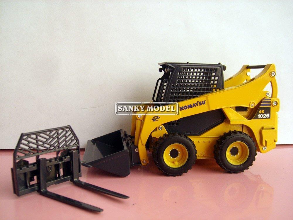 1:25 Komatsu SK1026 Skid Steer Loader toy(China (Mainland))