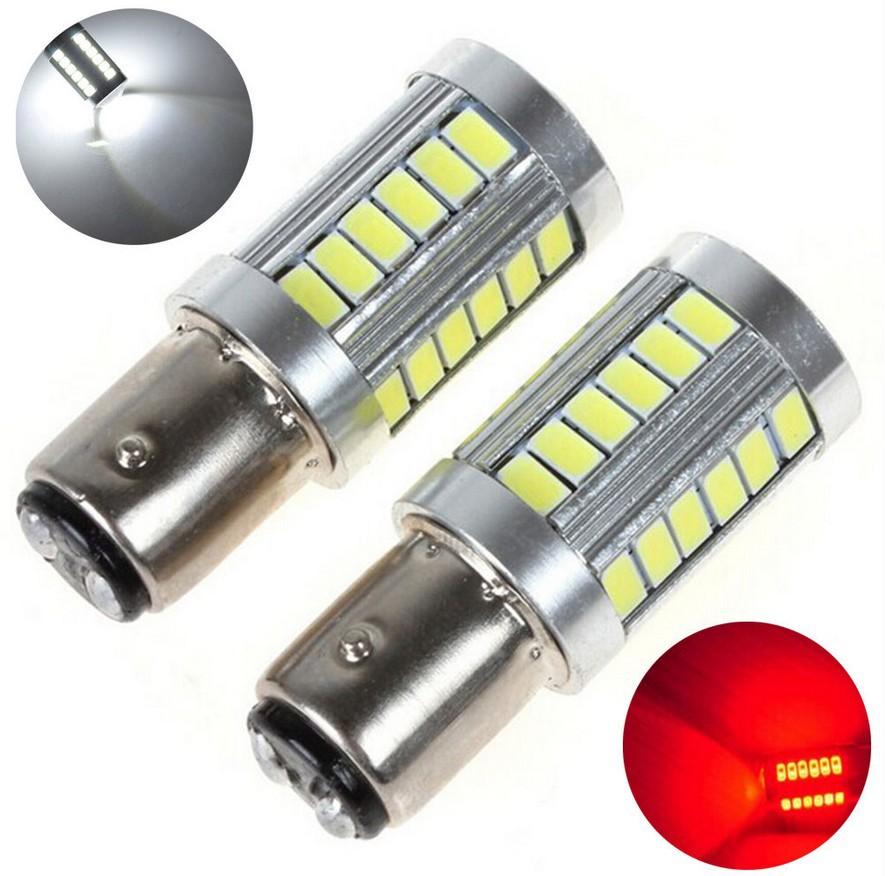 1piece 1157 canbus Cree 33 LED 5630 5730 SMD car rear light stop bulbs auto brake lights back fog lamp 12V blue red white yellow(China (Mainland))