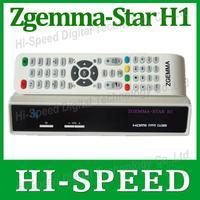 1pc Original ZGEMMA-STAR H1 Satellite TV Receiver DVB-S2+DVB-C Two Tuner Combo Enigma2 Linux Smart Box Zgemma star H1 Twin Tuner