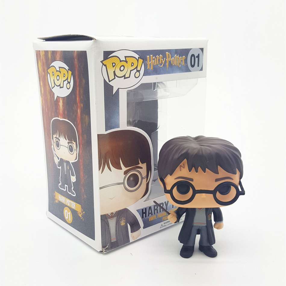 FUNKO POP Harry Potter PVC 10CM Genuine Action Figure Doll Collection Model Toys T514(China (Mainland))