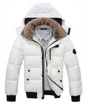 Men Down Coat Men's Coat Winter Overcoat Outwear Winter jacket  Hooded Thick Fur Outdoor  MWM001
