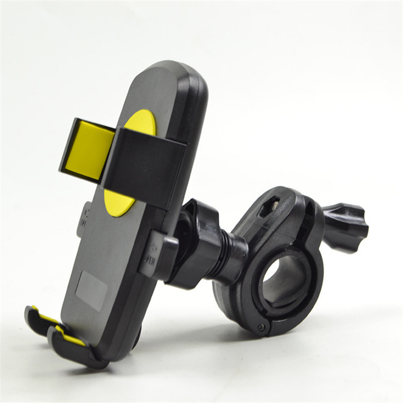 Classic Black Color Standing Style 360 Rotating Chassis Vacuum Adsorption 2.4-6.3 In Phone Use Bike Navigation Holder For Sport(China (Mainland))