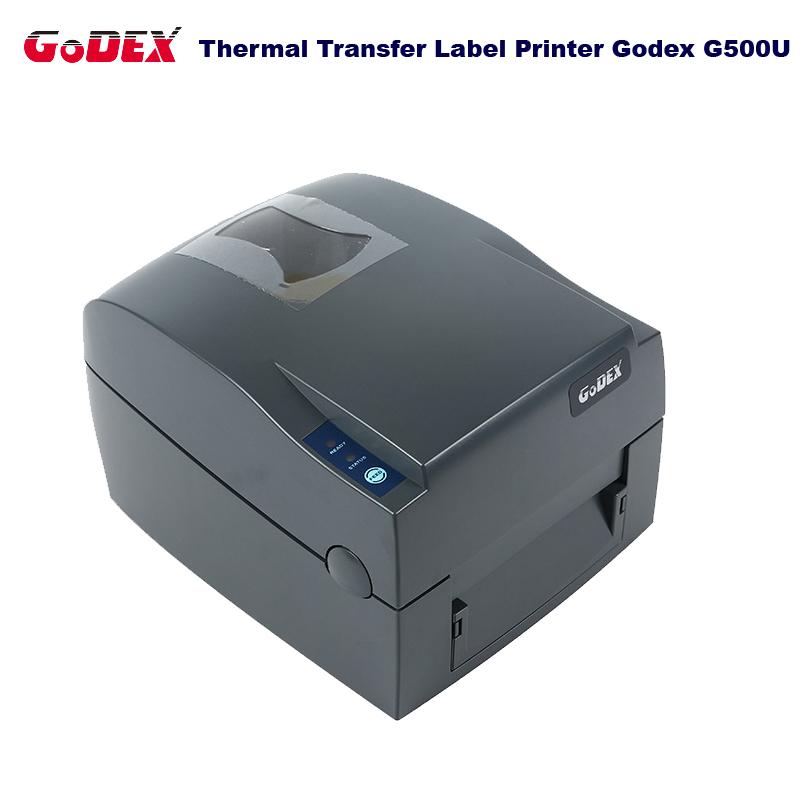 Godex G500U label & barcode printer 108mm printing width support Jewelry tag and clothing tag impressora multifuncinal(China (Mainland))