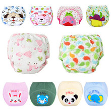 1 pc Baby Training Pants Child Cloth Study Pants Reusable Nappy Cover Washable Diapers Underwear Baby