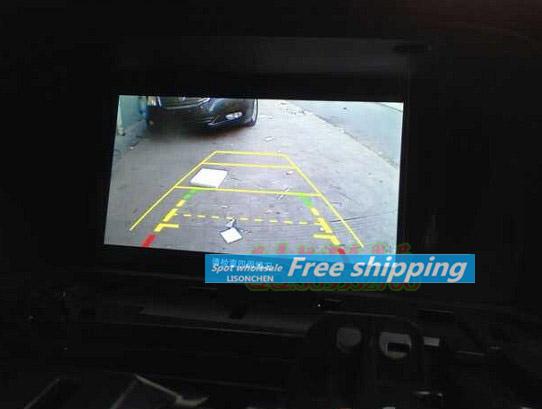 For the nine-generation Honda Accord 2.0/2.4 original car navigation screen rear view camera adapter cable installation(China (Mainland))