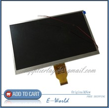 free shipping 10.1 inch 40PIN 1024x600 For lenovo A101 tablet LCD screen T10140B-A3 WD display with the original(China (Mainland))