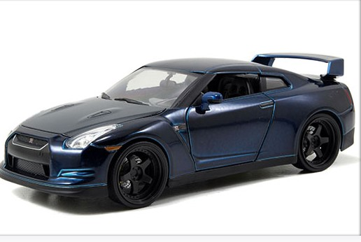 JADA 1/24 The Fast and the Furious 7 Scale Diecast Model Car NISSAN GTR R35 for Paul(China (Mainland))