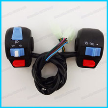 Moped Scooters Super Left Right Handle Switch Control Assembly Set For GY6 50cc 125cc 150cc Motorcycles(China (Mainland))