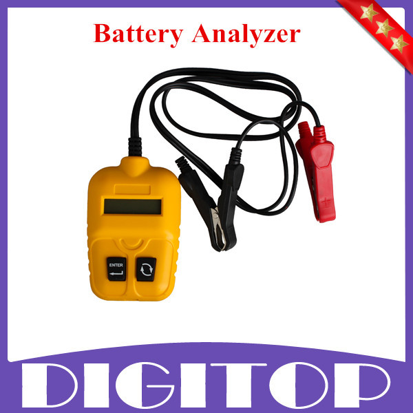 Car Battery Analyzer Smart Auto Battery Analyzer Tester Able To Test The Condition Of Discharged Battery Of Good Quality(China (Mainland))
