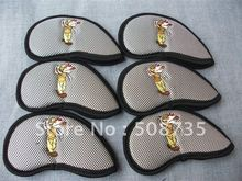 Free shipping, 2012 wholesale golf new style grey iron cover without number, 9 pcs per set(China (Mainland))