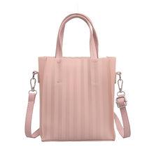 Onda padrão senhoras mão crossbody sacos para as mulheres 2019 bolsas de luxo moda feminina bolsa de ombro designer feminino bolso mujer(China)
