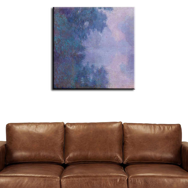 Oil paintings reproductions wall painting monet for Home decor manufacturer