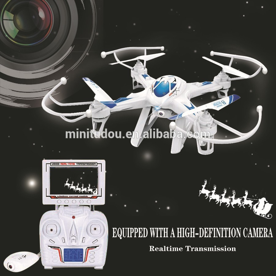 Здесь можно купить  2015 new  FPV RC DRONE  LH-X8DV 2.4GHz 4Ch 6axis Quadricopter FPV RC drone with monitor 2.4G4CH 6-Axis aerial Remote Control Toy  Игрушки и Хобби