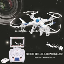 2015 nieuwe FPV RC DRONE LH-X8DV 2.4 GHz 4Ch 6 axis Quadricopter FPV RC drone met monitor 2.4G4CH 6-Axis antenne Afstandsbediening speelgoed