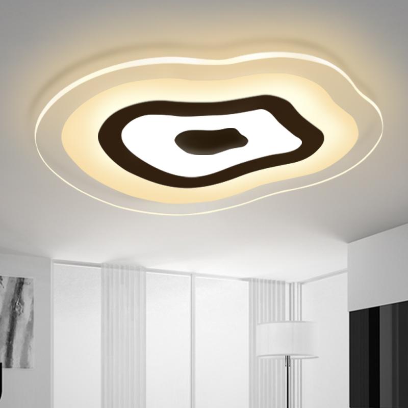 modern led living room ceiling lights design acrylic bedroom lamp eclairage plafonnier tavan aydinlatma light indoor lighting(China (Mainland))