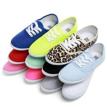 ForU New 2015 canvas shoes women casual shoes fashion brand women flat shoes woman white shoes 35-41 sn007(China (Mainland))