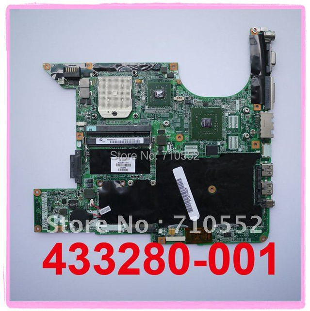for HP DV6000 Series 433280-001 laptop motherboard mainboard fully tested & working perfect