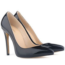 Classic Womens Pumps Patent Leather High Heels Corset Style Ladies Party Dance Wedding Shoes US Size 4-11 Sapatos Femininos
