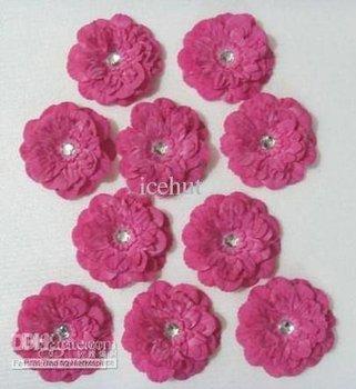 peony flower baby bows Children's Hair clip girl flowers barrettes hair flower 600 pcs icehut hahae