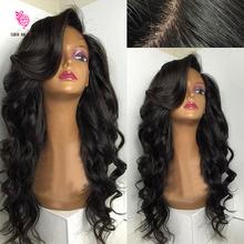 Горячая Glueless шелк база парик 4 x 4 шелковый топ освобождает волну парик плотность 180 перуанский девственные волосы шелк база парики фронта парики